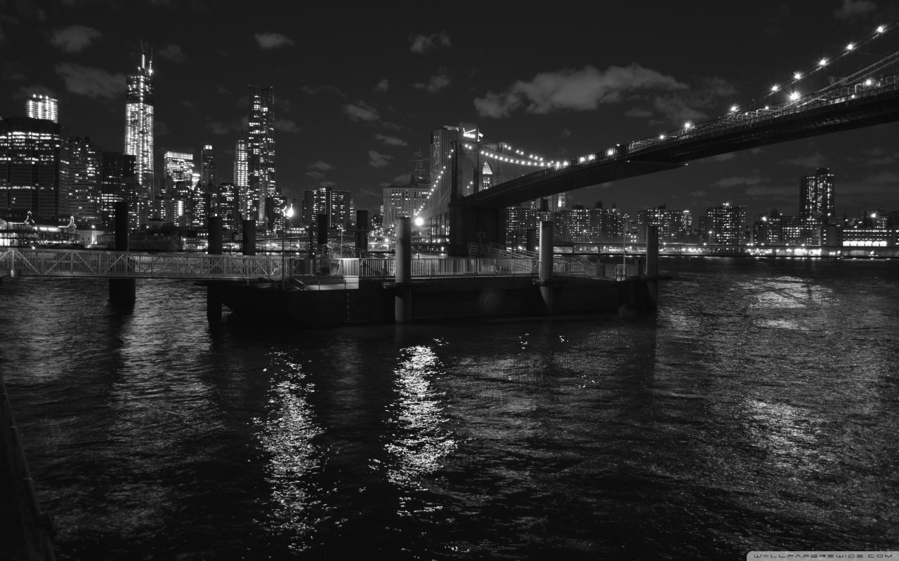 Pont Brooklyn New York Noir Blanc My Reputation Agency
